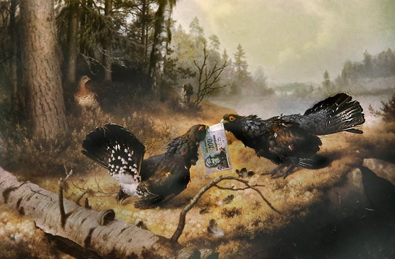 Taistelevat metsot, sarjasta RAHAA, Ö-ryhmä