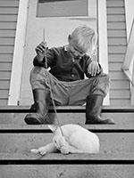 Ismo Höltön valokuva Hailuoto vuodelta 1964