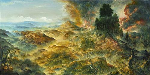 Petri Ala-Maunus, Celestial Explosion, 2020. Kuva Jefunne Gimpel